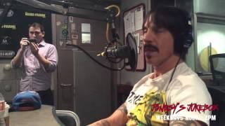 Anthony Kiedis In-Studio with Jonesy