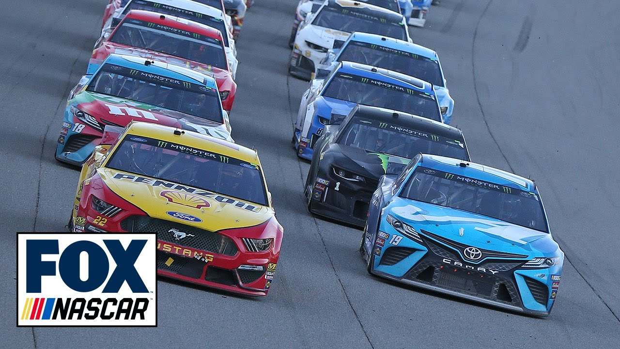 Did Joey Logano jump the restart at Michigan? | NASCAR RACE HUB