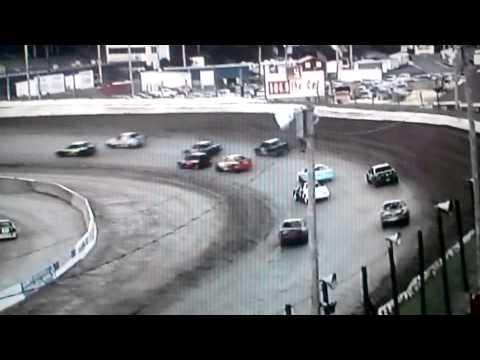 Lebanon Valley Speedway 4 cylinder feature. 7/27