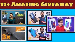 #Giveaway Technical Guruji Giveaway , Technology Gyan Giveaway, Gogi tech & more Giveaway