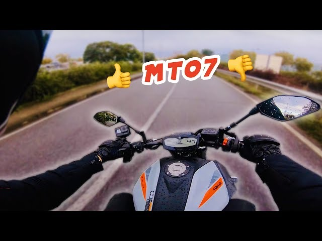 POURQUOI J'AIME PAS LA MT07 ?! 🏍 Motovlog