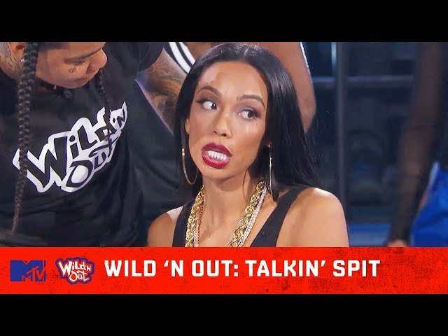 Erica Mena Can't Keep Her 🍑 In Her Pants 😂 | Wild 'N Out | #TalkinSpit 💦