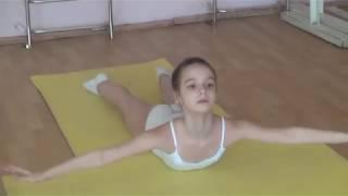 Tver Youth Ballet Академия СК Балета. Балетная гимнастика урок фрагмент