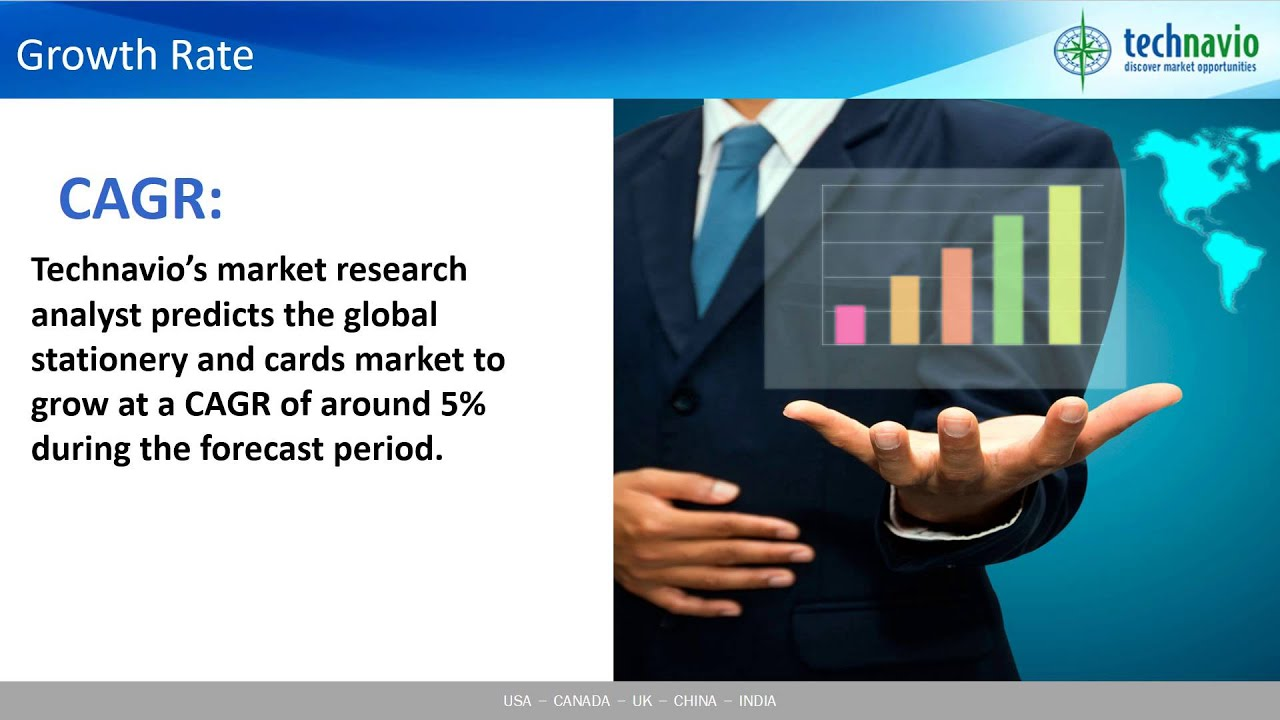 global stationery and cards market 2016 2020 youtube