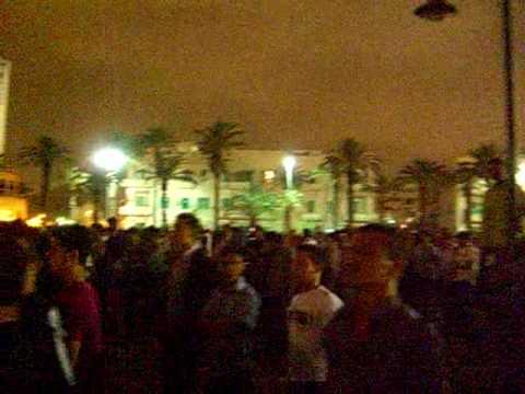 live reggae in Tripoli, Libya