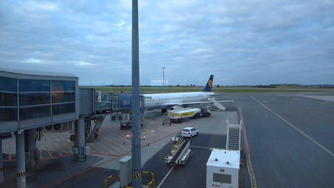Lufthansa A321 Prague-Frankfurt-Cairo Exit Row Seat 11A ...