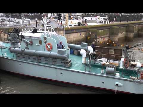 WATCHET 2012 TRAFALGAR DAY SHIPS