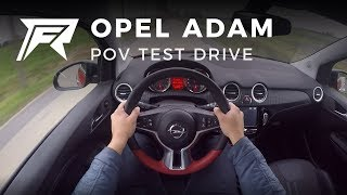 2017 Opel Adam 1.0 Turbo 90HP - POV Test Drive (no talking, pure driving)