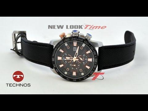 d7025bc3782 Relógio Cronógrafo TECHNOS OS10EH 8P - YouTube