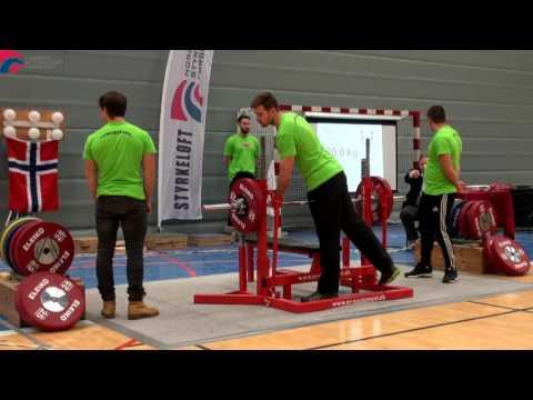 Norgesmesterskap i Benkpress Utstyrsfritt 2016