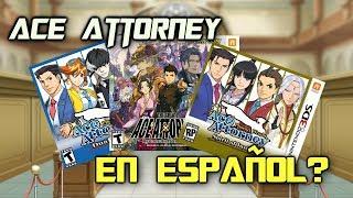 ¿Por qué NO hay Ace Attorney en español?
