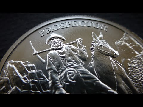 SILVER!! in them hills! Provident Metals Prospector round