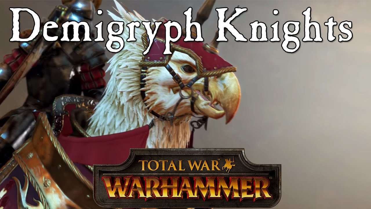 Total War Warhammer Demigryph Knights Vs Reiksguard