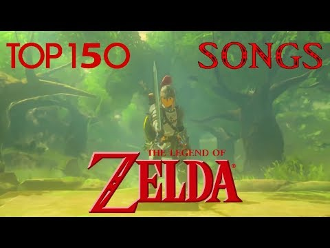 TOP 150 The Legend of Zelda Songs of All Time 150101
