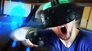 MOST EXHAUSTING VR GAME! | Holopoint (HTC Vive Virtual Reality)