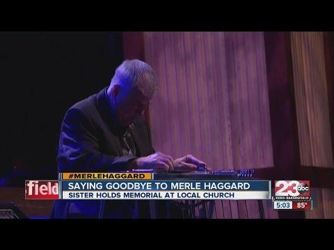 Merle Haggard memorial