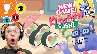 WARNING: DELICIOUS CONTENT | Trailer Reaction | Toca Kitchen Sushi + SECRETS!
