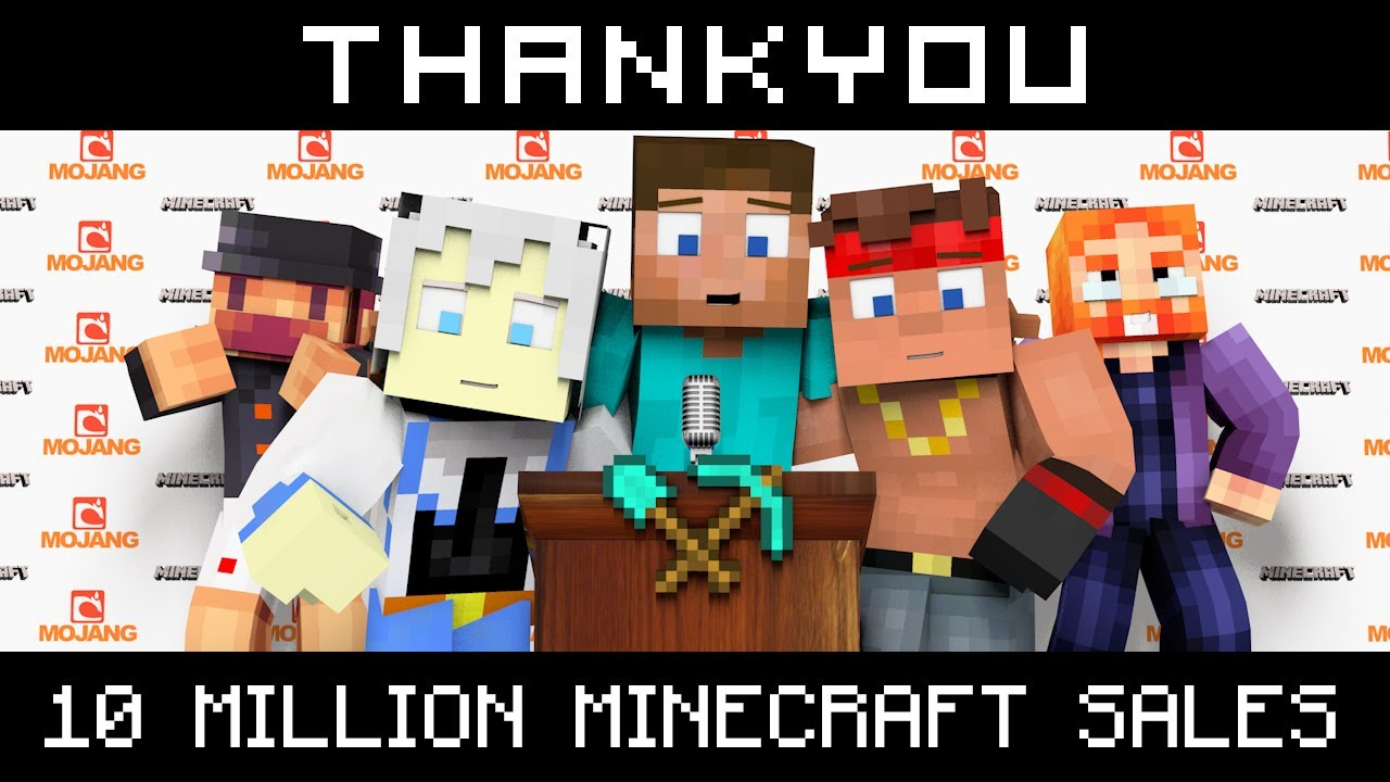 Thank You! by MKTO | Minecraft Parody Song Intro - YouTube