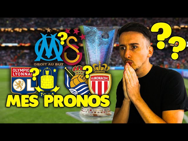 Pronostic Foot : Mes PRONOSTICS (Europa League) + Marseille - Galatasaray