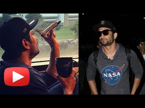 Sushant Singh Rajput Stylish Landing After NASA Visit In The US | Chanda Mama Door Ke