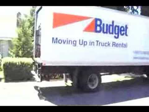 Budget Moving Trucks >> Budget Truck-Toy Hauler - YouTube