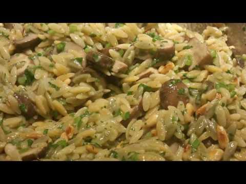Recipe: Mushroom Orzo
