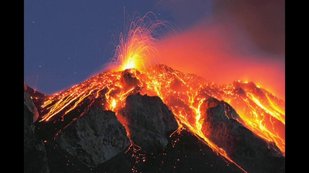 The Mount Vesuvius Eruption