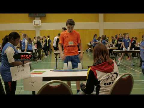 Sport Stacking: 4 ok times 'in tournament'