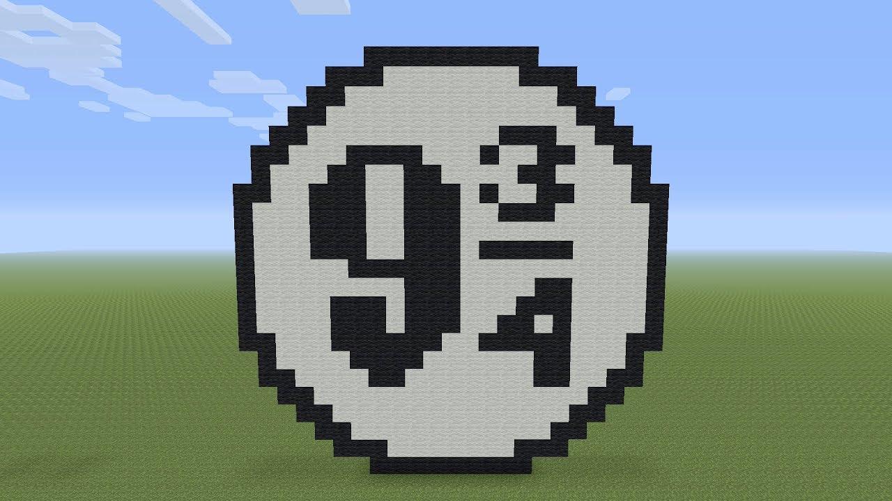Minecraft Pixel Art Platform 9 3 4 From Harry Potter Youtube
