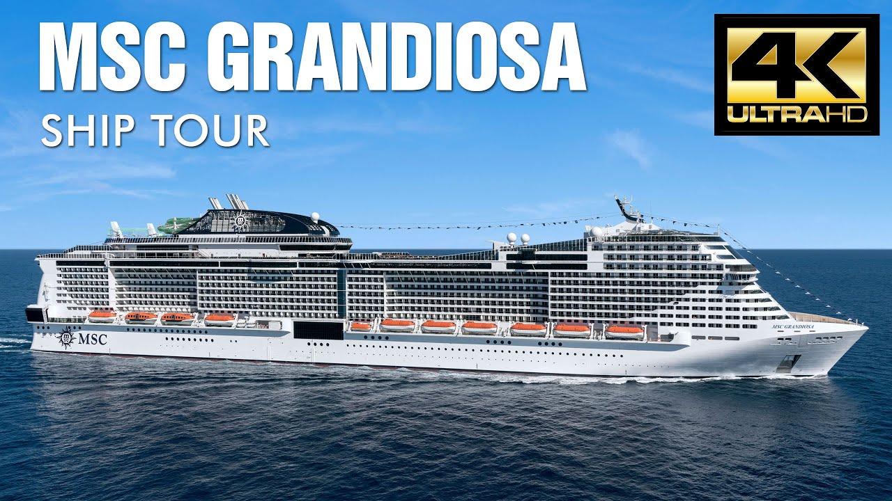 MSC Grandiosa tour por dentro! MSC Cruceros - YouTube