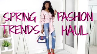 SPRING 2017 TRENDS FASHION HAUL