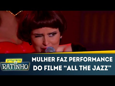 Mulher Faz Performance Do Filme All That Jazz No Dez Ou Mil | Programa Do Ratinho (11/06/2018)