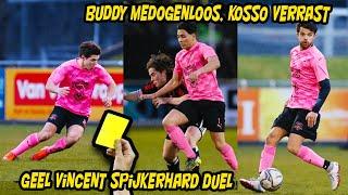 Geel voor Vincent door spijkerhard duel, Buddy medogenloos, Kosso verrast, Luca aangepakt!