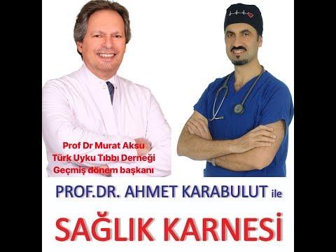 UYKUSUZLUĞA KARŞI REÇETE YAZIYORUZ - PROF DR MURAT AKSU - PROF DR AHMET KARABULUT
