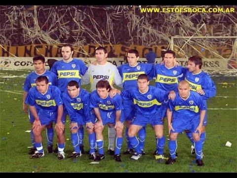 FINAL Copa Libertadores 2003: Boca Juniors    vs   Santos