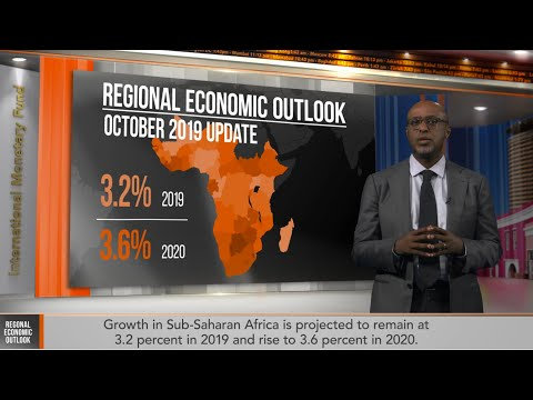Sub-Saharan Africa Regional Economic Outlook, October 2019