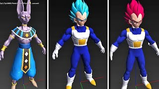 NEW GOD & BLUE VEGETA KAKAROT LEAKS! Dragon Ball Z Kakarot - Battle of Gods Beerus & Whis Data DLC