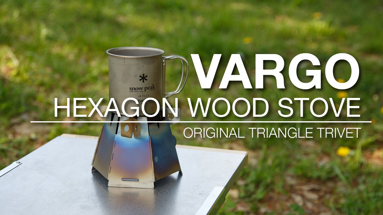 VARGO ヘキサゴンウッドストーブ用オリジナル五徳を作ってみた
