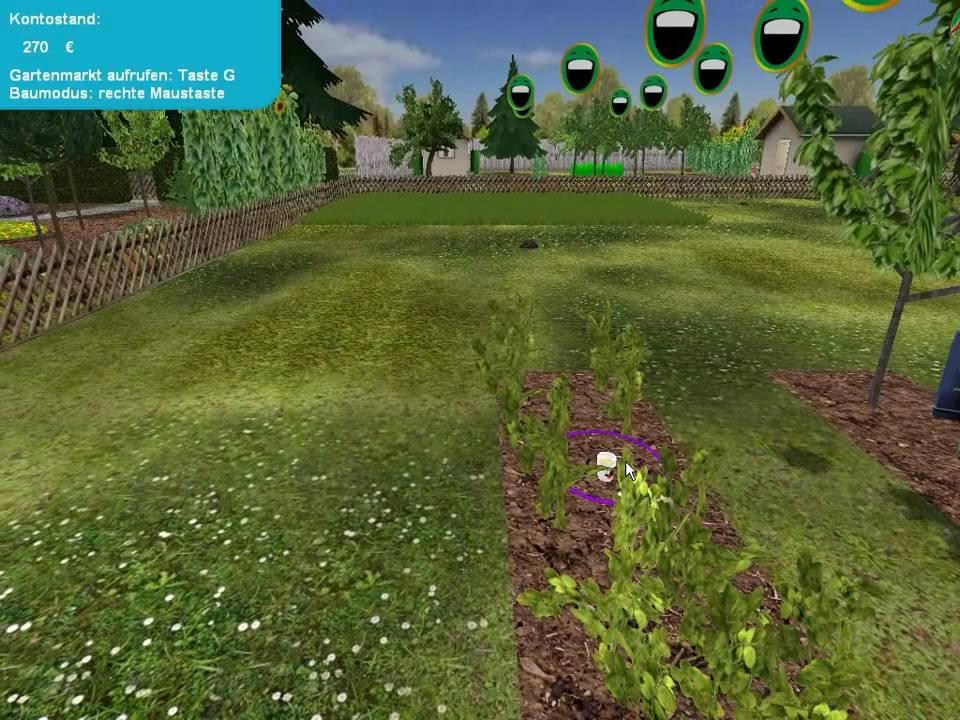 Lets Play Garten Simulator 2010 005 Deutsch Hd Schnecken Und