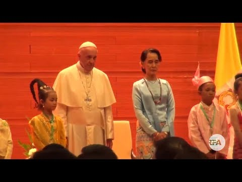 Press Conference on Pope Francis's Myanmar Trip