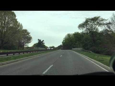 2015 04 25 Drive: George Washington Memorial Parkway South through Old Town Alexandria, Virginia