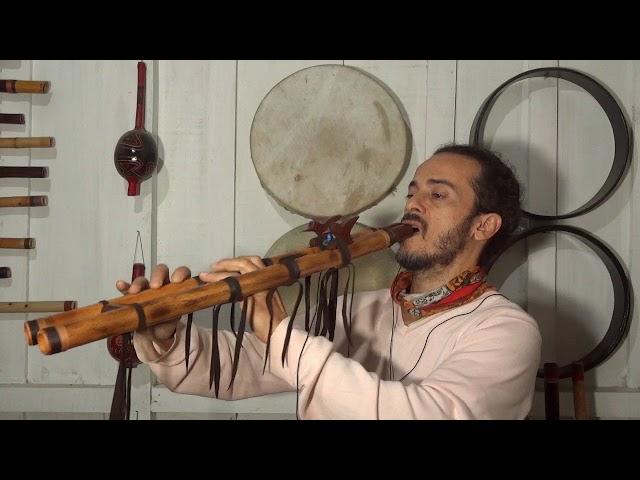 Flauta Nativa Dupla E