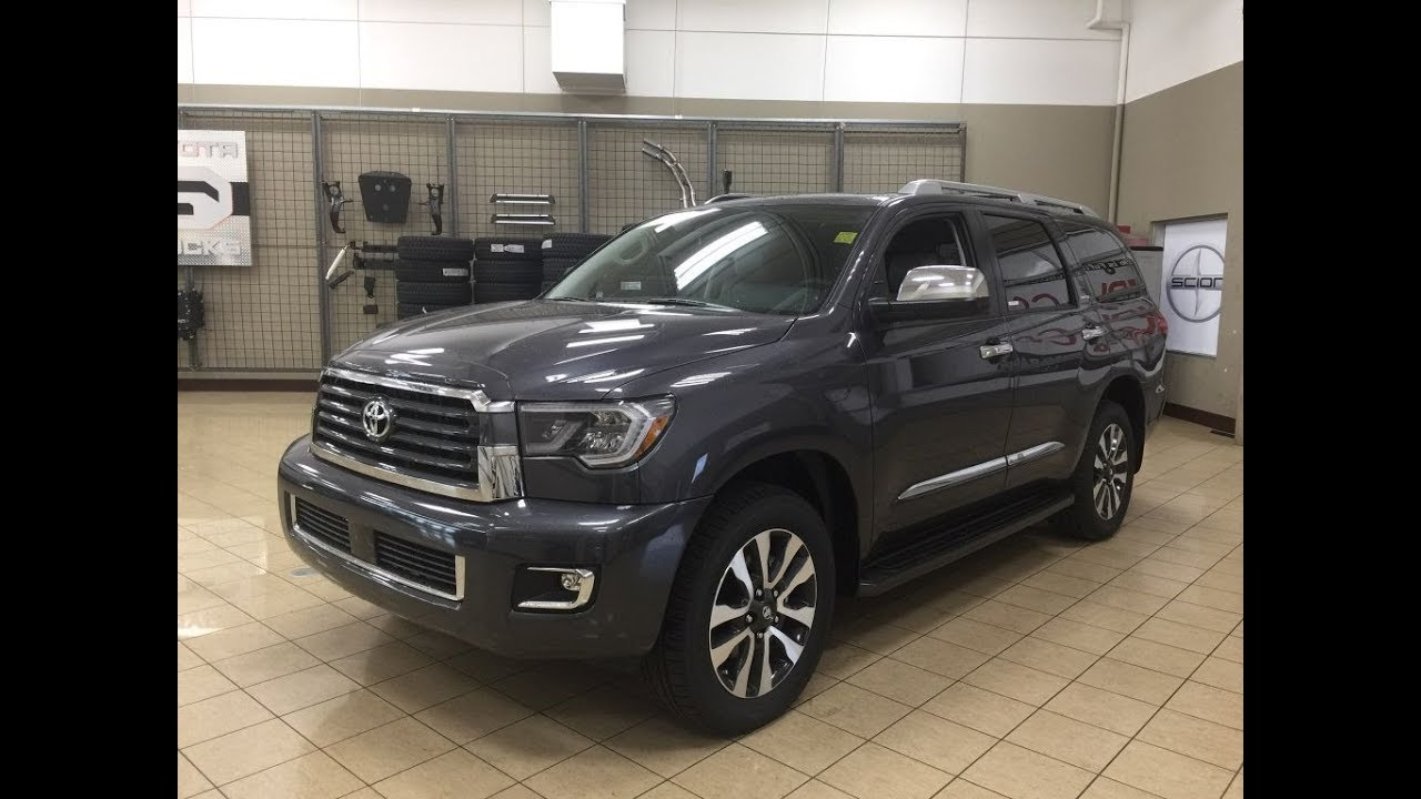 2018 Toyota Sequoia Limited Review Youtube