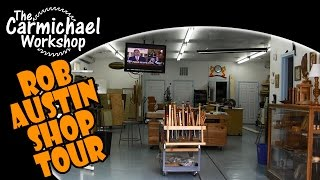 Tour Of My Neighbor Rob Austin's Woodworking Shop