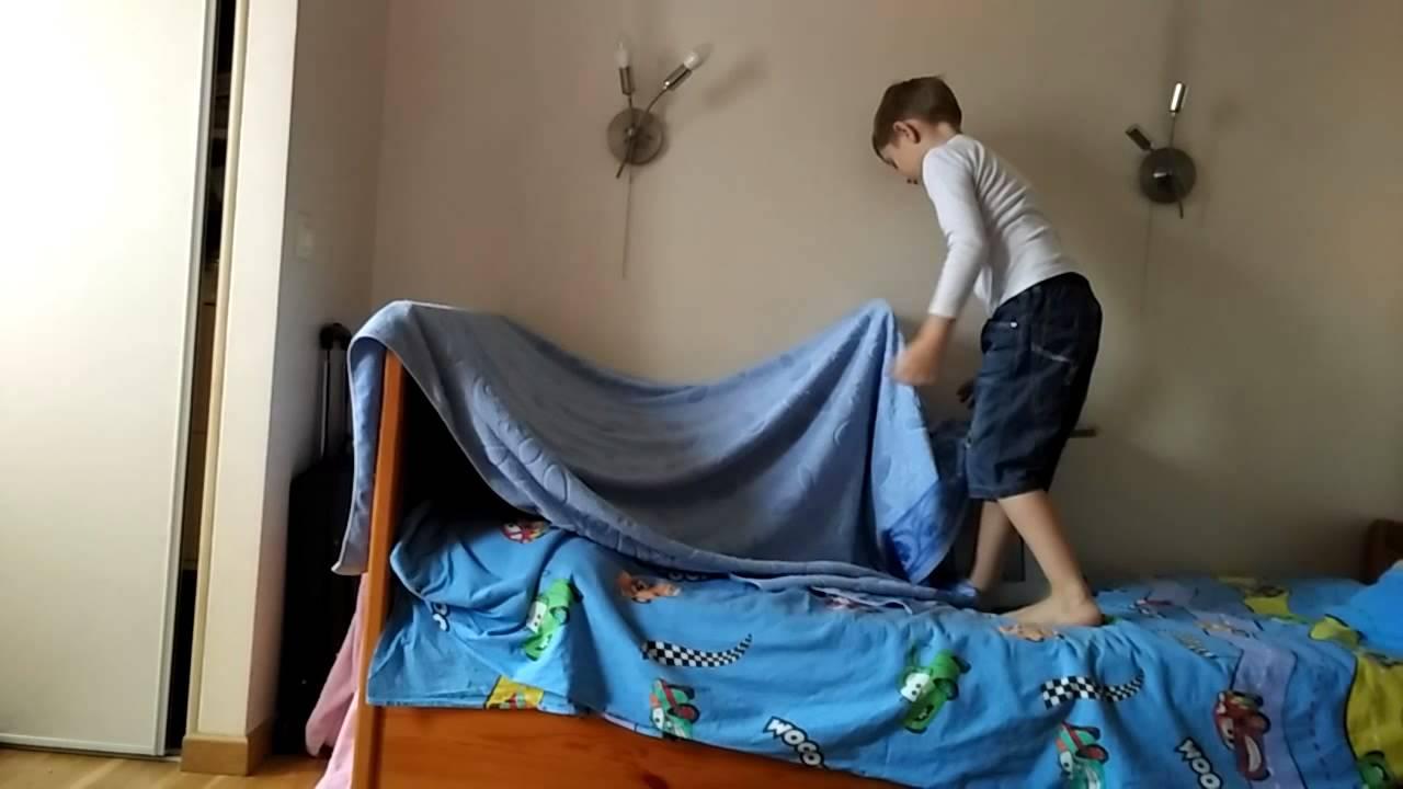 Как сделать палатку из одеяла фото 909