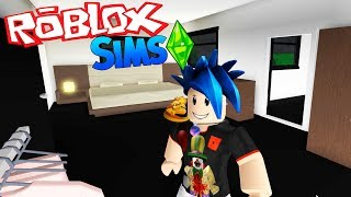 WE MAKE OUR BEDROOMS #36 ? ROBLOXSIMS ? BLOXBURG ? ROBLOX