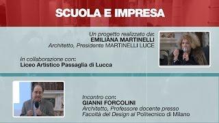 Scuola e Impresa -  Incontro con l'architetto Gianni Forcolini