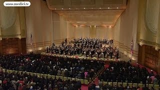 New York Philharmonic - National Anthems of North Korea & USA (Pyong Yang 2008)