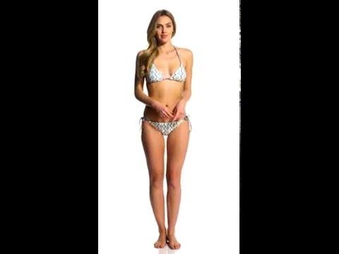 0e4f99dfe3d1c Splendid Astoria Reversible Triangle Halter Bikini Top | SwimOutlet.com