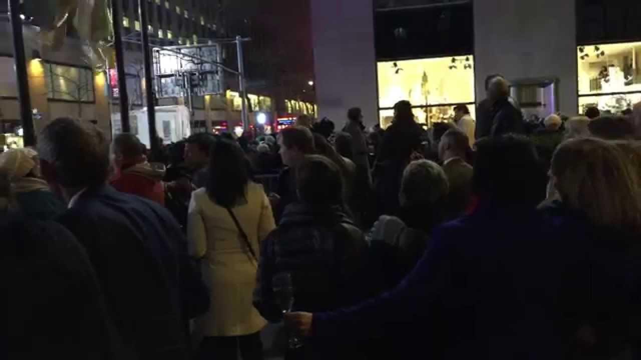 NYCVP's 2014 Rockefeller Center Christmas Tree Lighting